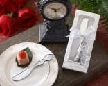 """""""Love Blossoms"""" Stainless-Steel Spreader"""