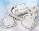 """""""Be Our Guest!"""" Enchanting Ceramic Coasters (Set of 2)"""