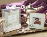 """""""Let Your Heart Decide"""" Jeweled Frosted-Glass Photo Frame"""