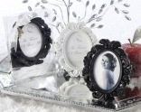 """""""The Fairest of Them All"""" Enchanting Place Card Holder/Photo Frame (White or Black)"""