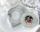 """""""The Difference a Kiss Can Make"""" Frosted-Glass Photo Coasters"""